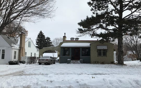 Sioux Falls firefighters responded to reports of flames and smoke coming from a house in the 1600 block of S. Fifth Avenue Tuesday night, Jan. 14, 2020. The homeowner has been charged with reckless burning and obstruction to officers after lighting several fires within the home, police said.