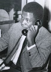 Goforth Coleman, then the director of Springfield Youth Center,  was the oldest of the group to make the trip to Atlanta. He was 26. Photo taken in 1968.