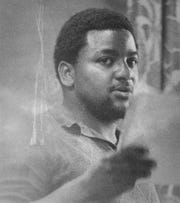 David Shipps was a student at Southwest Missouri State when he made the trip to Atlanta for the funeral of Dr. Martin Luther King Jr. Photo taken in 1971.