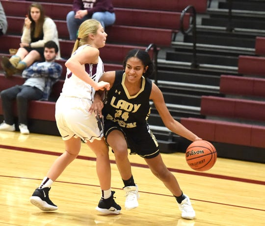 Buffalo Gap's Amaya Lucas was named co-player of the year in the Shenandoah District.