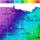 Frigid air is sweeping in from the Dakotas