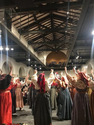 The Nitka Russian Folk Group performs at The Museum of Russian Art on Jan. 12, 2019.