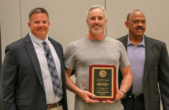 Chiles cross country coach Mike Phillips was named the Florida Track & Field girls cross country coach of the year for the 2018-19 season.