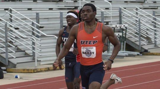 Sean Bailey is a senior sprinter at UTEP.