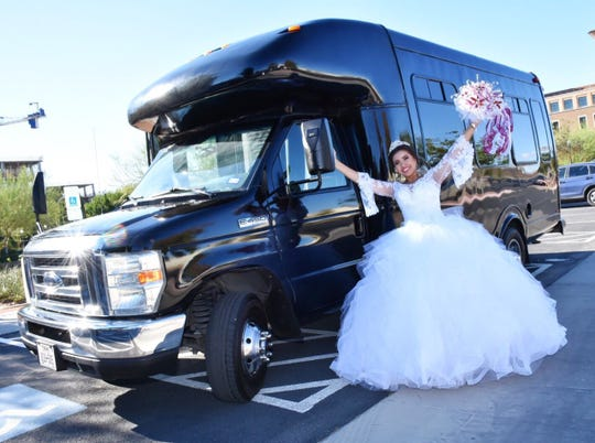 Unique Party Bus, at 8030 Alameda Ave., says party buses are the way to go for transporting the quinceañera and her court before the big party.