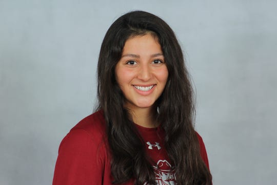 Franklin High School University graduate Airam Oliva-Aun has been a solid contributor for the New Mexico State swim team.