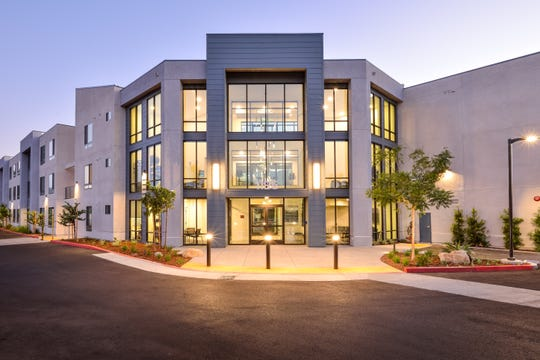 The 65-unit Patricia Parc apartments began leasing in July 2019, and have similar design and amenities to the Vantage, which was approved by the Simi Valley City Council on Jan. 13, 2020.