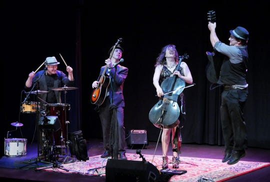 San Francisco-based Dirty Cello will play 8 p.m. Jan. 18 at theNamba Performing Arts Space in Ventura.