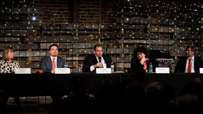 Candidates for Tulare County Board of Supervisors participate in a forum ahead of the March 3 election.