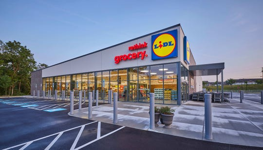 An existing Lidl in Hagerstown, Maryland.