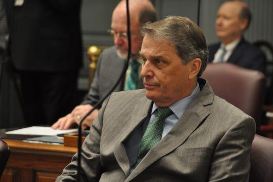 Sen. Bryant Richardson, R-Seaford, sits on the Delaware Senate floor on Jan. 15, 2020.
