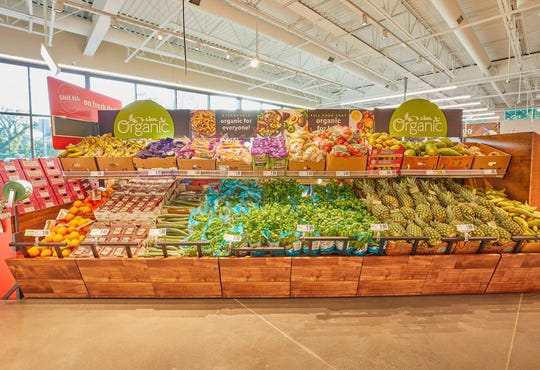The produce section in a Lidl grocery store. Lidl is opening its second Delaware location in February.