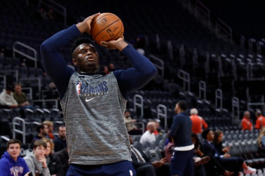 Pelicans forward Zion Williamson has learned new movements to help limit his potential for injuries.