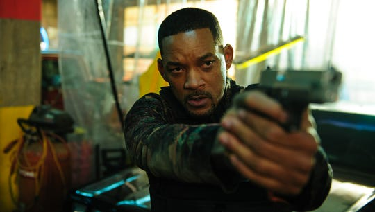 "Mike Lowrey (Will Smith) is the target for a vengeful villain in ""Bad Boys for Life."""