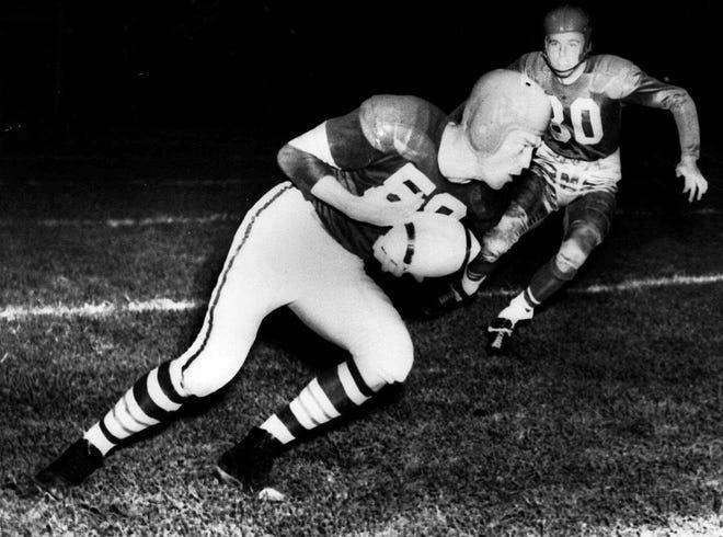 Mac Speedie - end, Cleveland Browns (1946-1952)