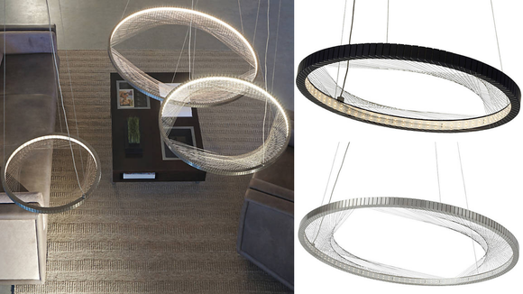This suspension light is as useful as it is unique.