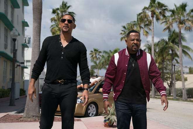 "Mike (Will Smith, left) and Marcus (Martin Lawrence) are longtime Miami partners weighing their futures as cops in ""Bad Boys for Life."""
