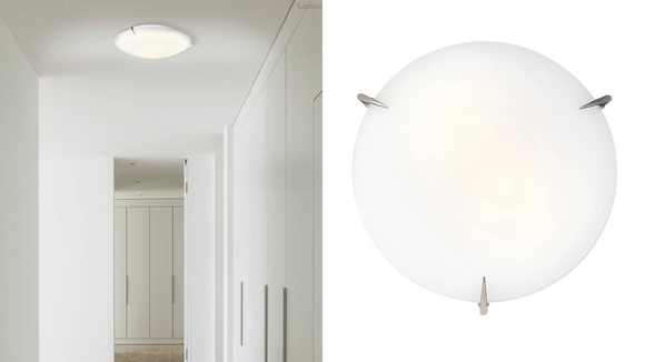 This light is perfect for small spaces.