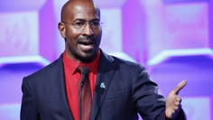 Political commentator Van Jones speaks at the 2017 GLAAD Gala at City View at Metreon in San Francisco, Sept. 9, 2017.
