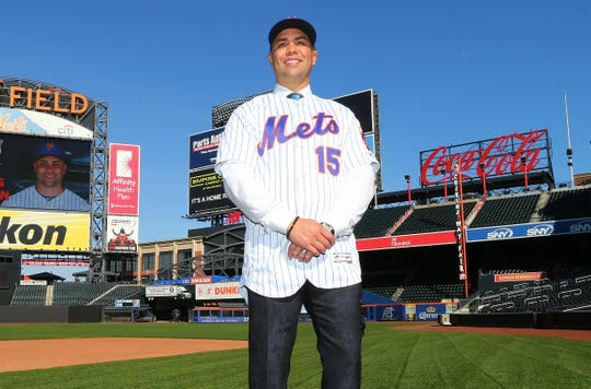 Beltran was introduced as the Mets' new manager on Nov. 4.
