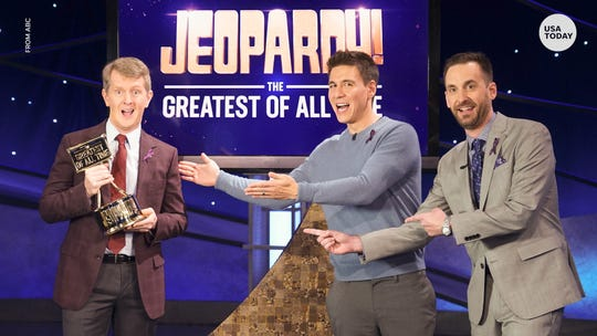 Ken Jennings crowned 'Jeopardy! Greatest of All Time' tournament champion