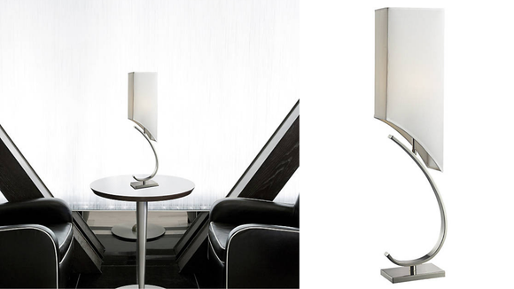 This unique lamp looks great in both homes and offices.