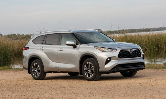 The 2020 Toyota Highlander. USA TODAY Network file photo