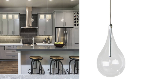 This gorgeous pendant looks great as a pair (or trio).