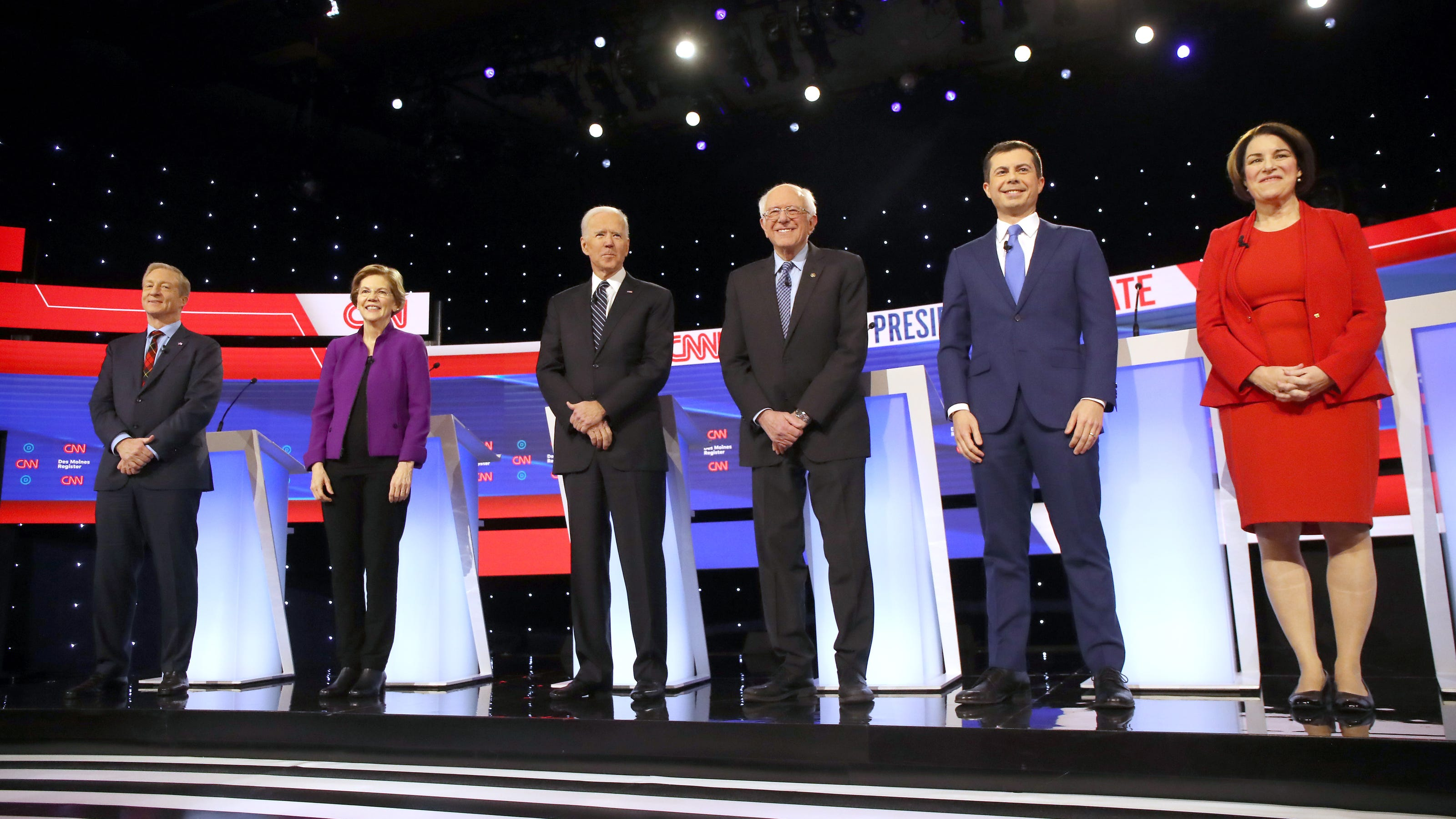 2020 Election Top Moments From The January Democratic Debate