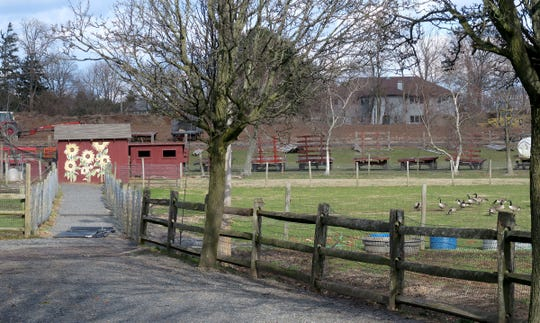 """The livestock has been removed from Atlantic Farms on Atlantic Avenue in Wall Township shown Thursday, January 16, 2020.   Atlantic Farms said in a Facebook post signed by owner John Tobia: """"It is with heavy hearts after various business and personal circumstances, Atlantic Farms will no longer be in operation."""""""