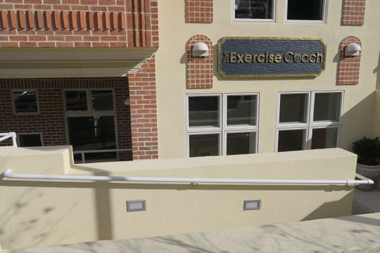 Exterior of the Exercise Coach in Fair Haven Thursday, January 16, 2020.  The facility uses computer aided fitness machines for an efficient workout to build and strengthen muscles.