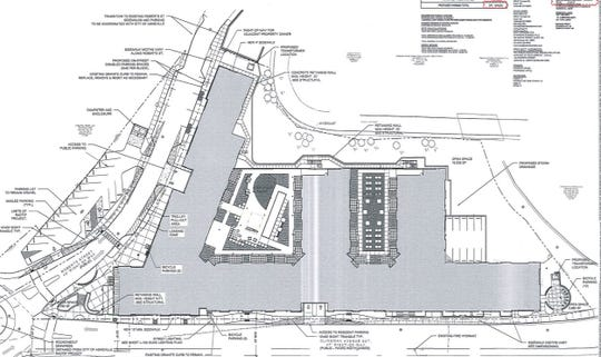 Plans for the 235-apartment RAD Lofts in the River Arts District.