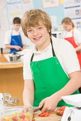 UHS's Stay Healthy program debuted the Junior Culinary Academy for kids and teens ages eight to 18.