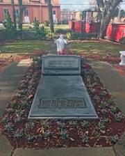 Mary McLeod Bethune's grave is located on the Bethune Cookman University campus in Daytona Beach. Her final resting place is open to anyone who wishes to view it. The grave is located right outside the home once occupied by from 1913 until her death in 1955.