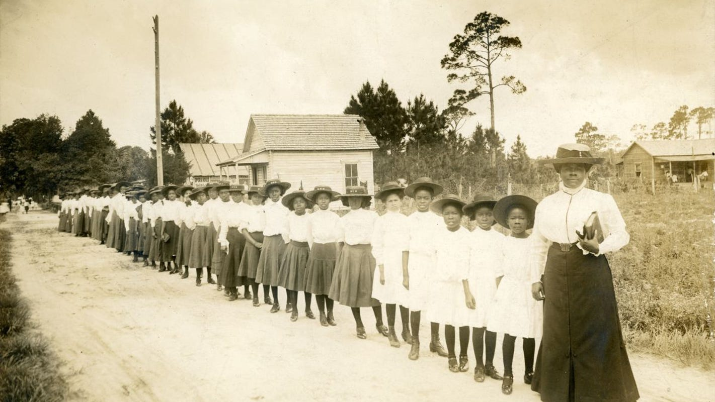 Mary McLeod Bethune was born the daughter of slaves. She died a retired college president