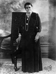 A portrait of Mary McLeod Bethune in 1943.