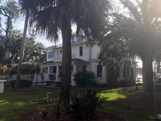 The house where Mary McLeod Bethune lived from 1913 until her death in 1955 is located on the Bethune Cookman University campus in Daytona Beach. Bethune is buried right outside the home and her grave is open and can be seen by anyone who visits the campus.
