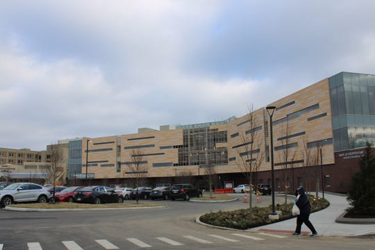 The new Thomas Comprehensive Care Center in Montgomery, is next door to TriHealth's Bethesda North Hospital. Ribbon-cutting for the center was Thursday, and the first patient is expected to sign in for care Feb. 3. The center cost more than $80 million to build.