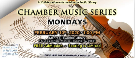 """""""Music from China"""" will be presented from 1 to 2 p.m. on Monday, Feb.10, at Monroe Township Public Library,4 Municipal Plaza in Monroe Township."""