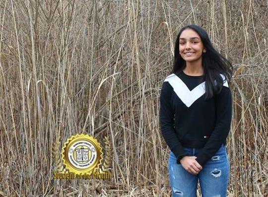 Parthavi Patel named SCVTHS Student of the Month for Jan. 2020