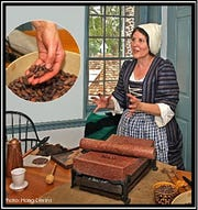 Susan McLellan Plaisted will present a program on chocolate making from 1 to 4 p.m. on Sunday, Feb. 2, at the Bouman-Stickney Farmstead,114 Dreahook Road in the Stanton section of Readington.