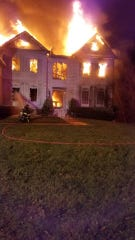 A Monroe family has been displaced after an early morning fire heavily damaged their Mayfair Road home.