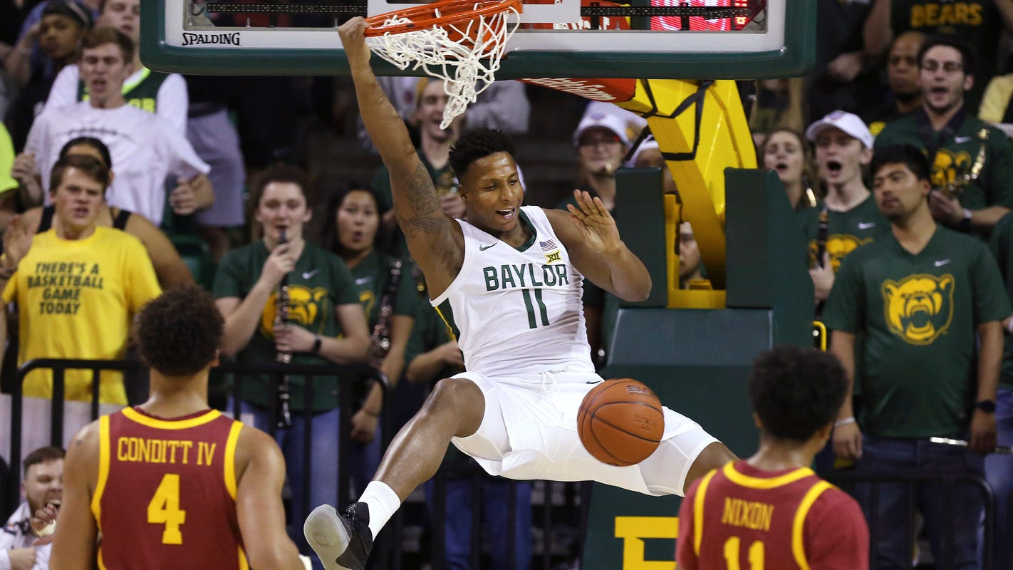 Big 12 power rankings: Baylor takes over the top spot while the Cyclones trend down