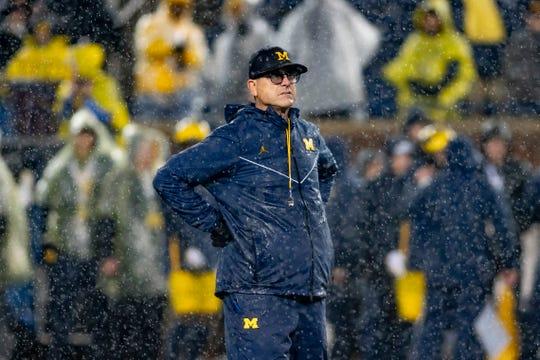 Jim Harbaugh is entering his sixth season as Michigan's head football coach.