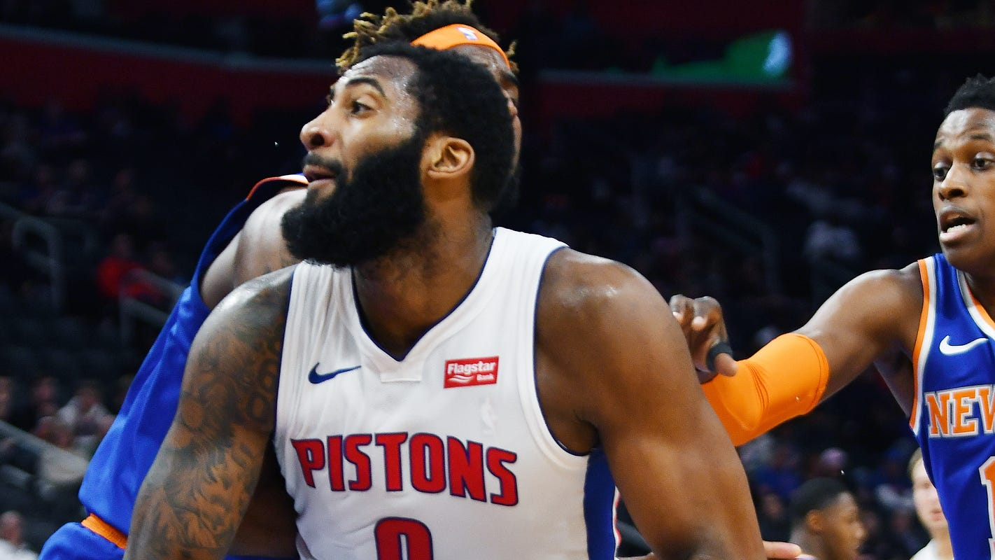 Report: Proposed deal to send Pistons' Andre Drummond to Atlanta is dead