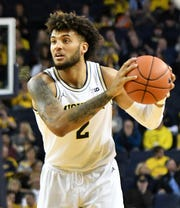 Michigan forward Isaiah Livers has missed the last four games with a groin injury.