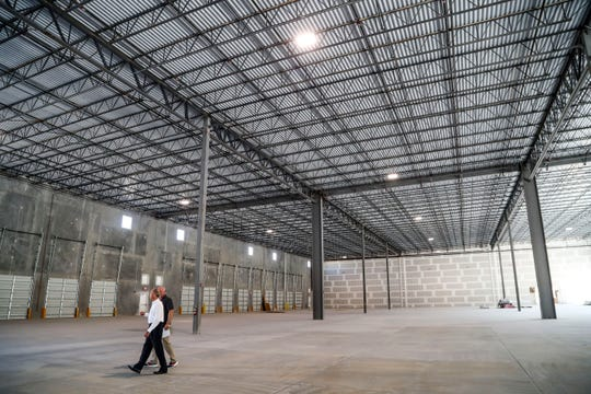This mega complex of industrial and storage buildings going up near the airport will be as big as the Edison Mall. We're talking, eventually, about up to 1.8 million square feet of industrial space on 225 acres. The project is called Premiere Airport Park, and sits just south of the airport in Fort Myers.