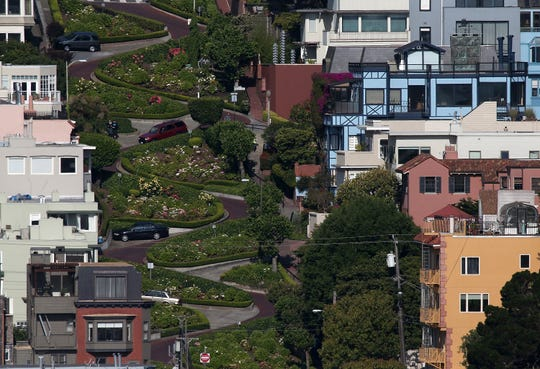 "Lombard Street in San Francisco is known as ""the crookedest street in the world."""