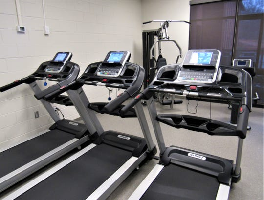 Cardio and strength training machines at the West Knox County Senior Center are available anytime they are not being used for classes. JAN 2020