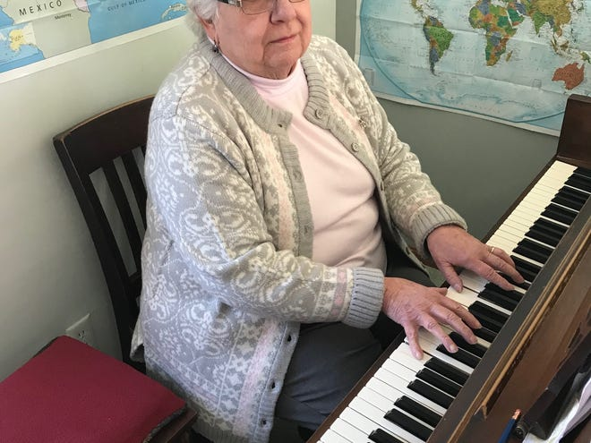 Mary Anne Theller has owned Fairfield County Strings & Keyboards for about 15 years.